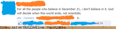 god,religion,facebook,scientists,mayan apocalypse