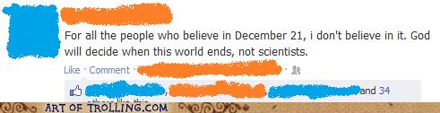 god religion facebook scientists mayan apocalypse - 6835657472