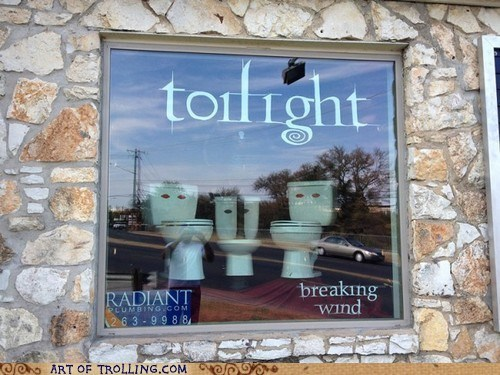 parody,toilet,twilight