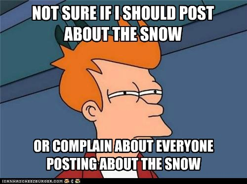 not sure if snow Futurama Fry - 6835954688