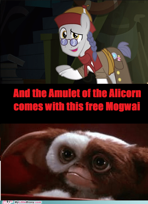 gremlins amulet of the alicorn mogwai