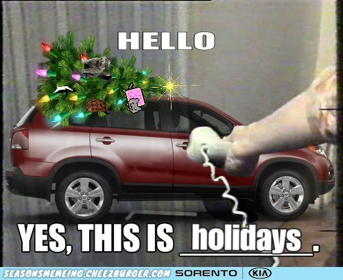 christmas kia hello yes this is dog Memes - 6836664064