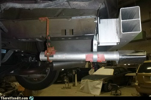 The Do It Yourself Dual Exhaust Muffler Kit.