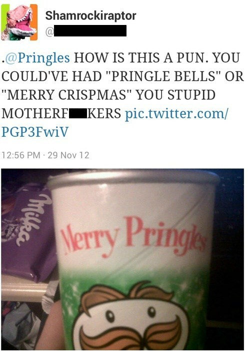 merry crispmas pringle bells merry pringles pringles