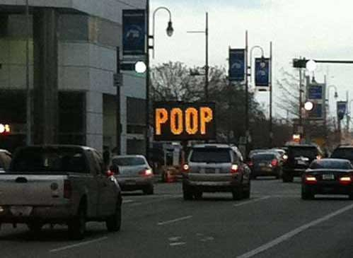 sign bathroom humor poop - 6836831232
