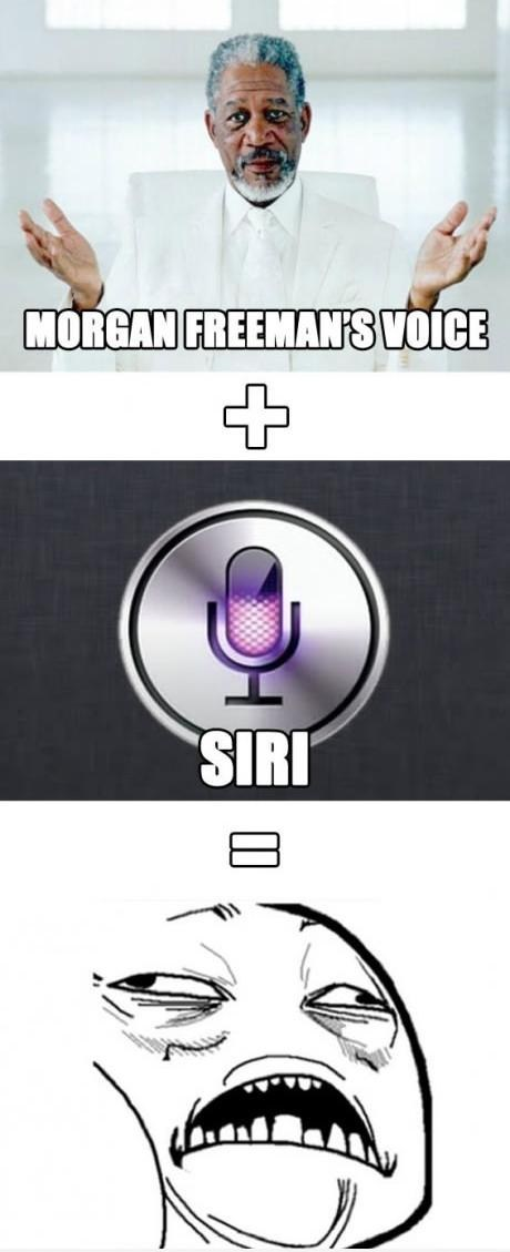 voices siri Morgan Freeman g rated AutocoWrecks