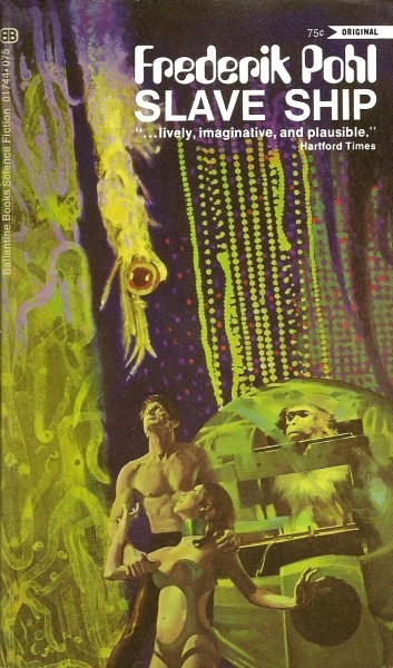 eyeball wtf Awkward cover art slave ship books science fiction - 6836925440