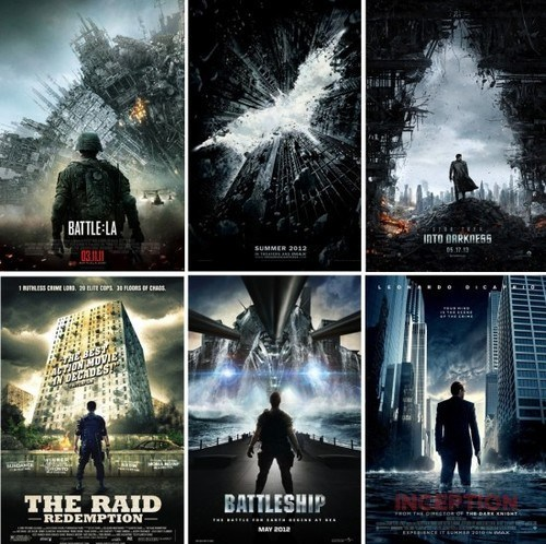 movies posters trend hollywood