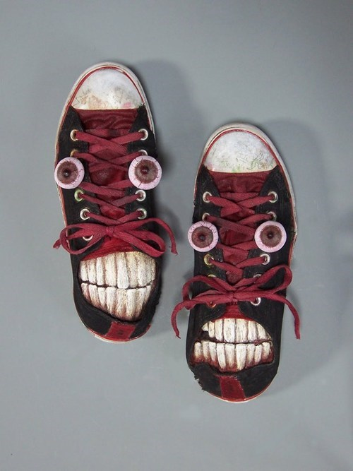 fancy creepy nightmare fuel new shoes - 6836965376