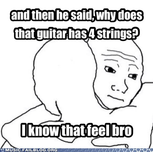 guitar feels bass Music FAILS g rated