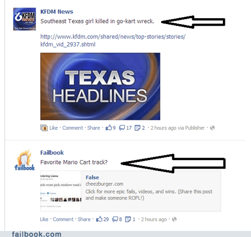 nice timing,bad timing,failbook fail