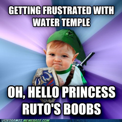 water temple zelda success kid link - 6837228544
