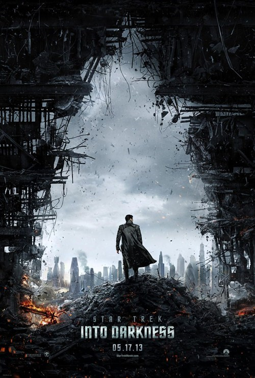 benedict cumberbatch JJ Abrams poster synopsis Star Trek star trek into darkness - 6837348608