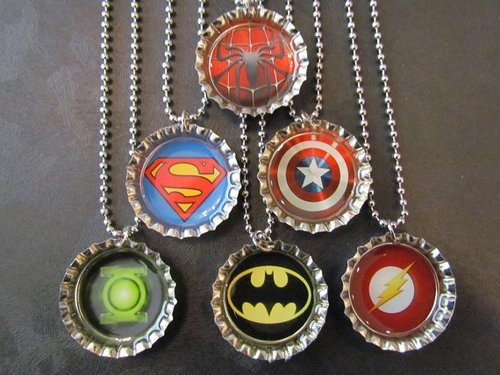 cool necklaces logos bottle caps - 6837358336