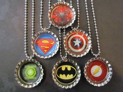 cool necklaces logos bottle caps - 6837358336