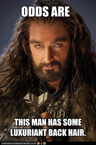 richard armitage back hair The Hobbit odds thorin oakenshield - 6837425152