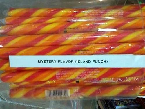 Spoiler Alert,mystery flavor,island punch