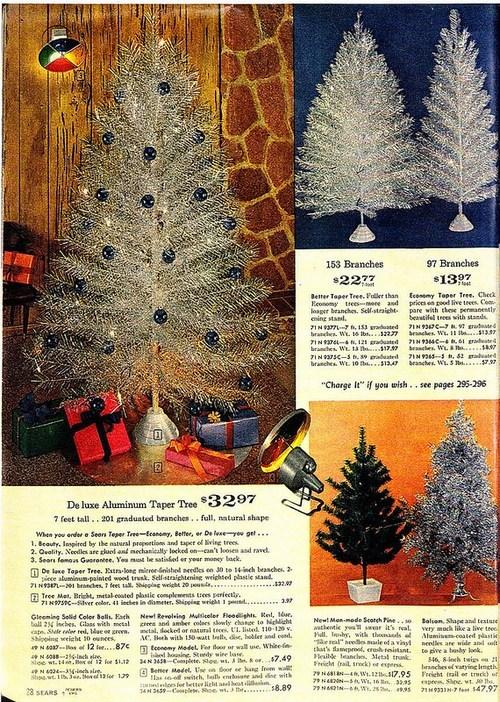 metal christmas silver colors christmas tree nostalgia light aluminum