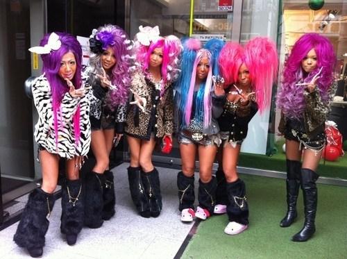 wigs scene girls - 6837559040
