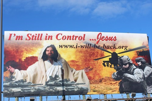 jesus billboard wtf wat - 6837630208