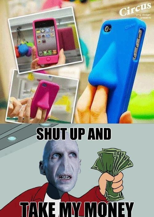 phone swag voldemort nose iphone case - 6837661952