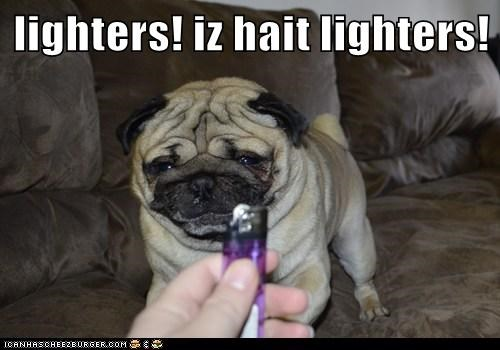 lighters! iz hait lighters!