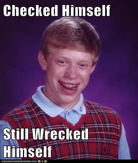Music,bad luck brian,check yourself