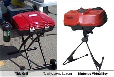 game,virtual boy,TLL,grill,funny,nintendo