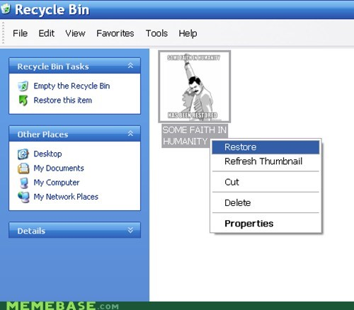 computers some faith in humanity recycle bin f yeah freddie - 6838803968