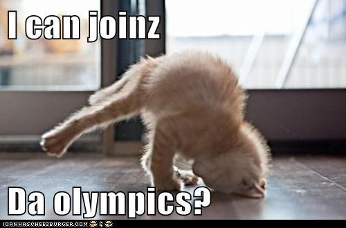 I can joinz  Da olympics?