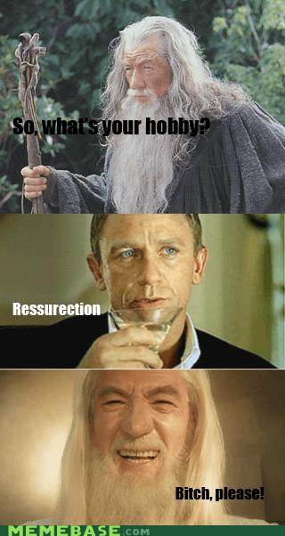 Movie ressurection james bond skyfall gandalf wizard hobby - 6840844288