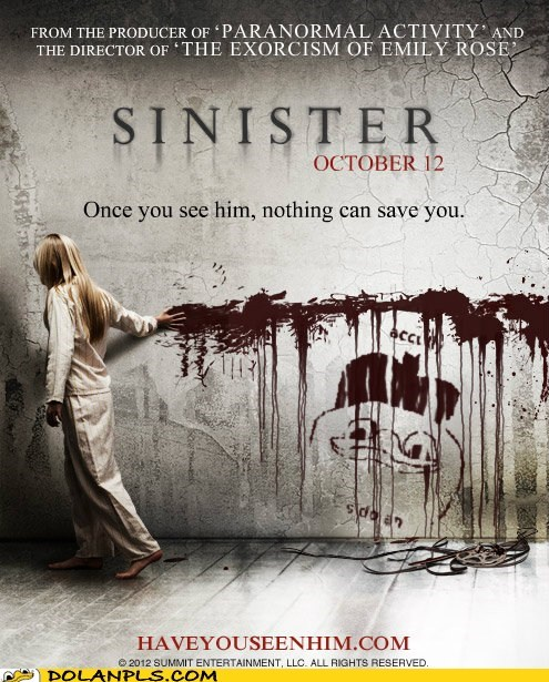 horror poster Movie sinister - 6841024256