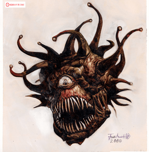 beholder,eye,literalism,beauty,double meaning,dungeons and dragons
