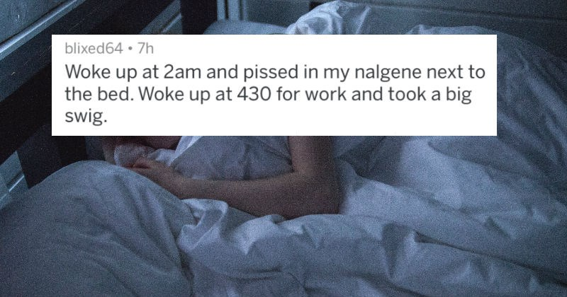 people share things they did while sleeping