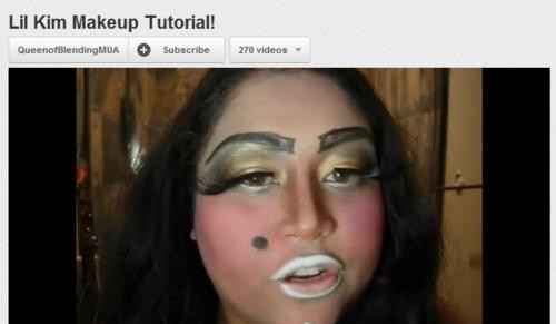 makeup,youtube videos,lil kim