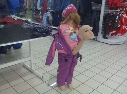 wtf Mannequins mixed up