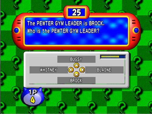 question,brock,trivia,nintendo 64,genius