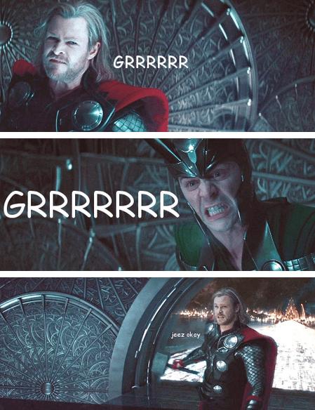 loki Thor tom hiddleston actor chris hemsworth funny - 6842909440