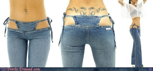 jeans thongs - 6842995456