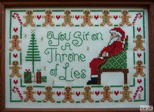 elf Movie sampler cross stitch craft quote - 6843539456