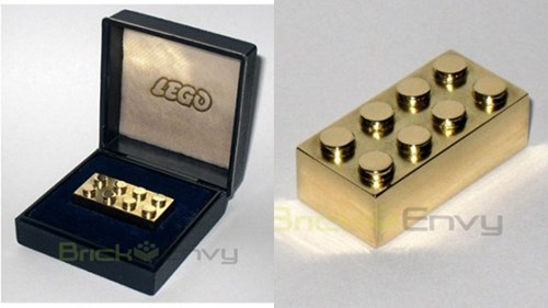 anniversary lego brick gold special - 6843554560