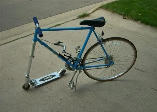 razor scooter,bicycle,90s,bike