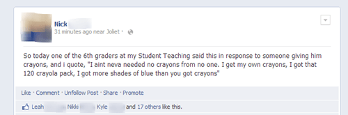 classroom crayons facebook g rated School of FAIL - 6843872256