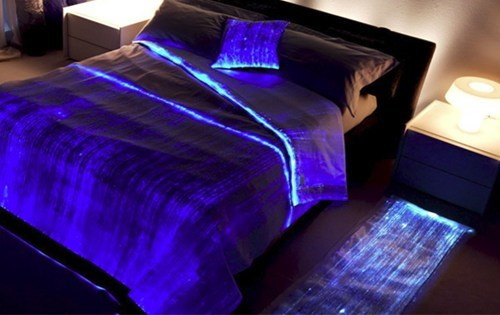 bed,design,fiber optic,tron