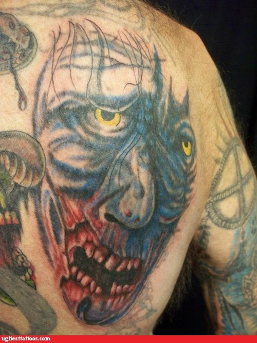 zombie back tattoos - 6843984128