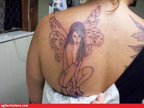 fairies back tattoos - 6843989504