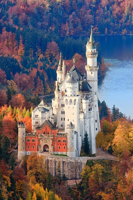 castle,architecture,Germany,fall