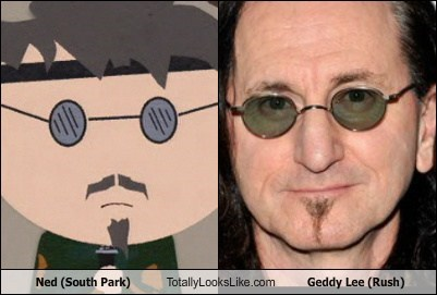Music geddy lee South Park TLL ned rush funny - 6844316160