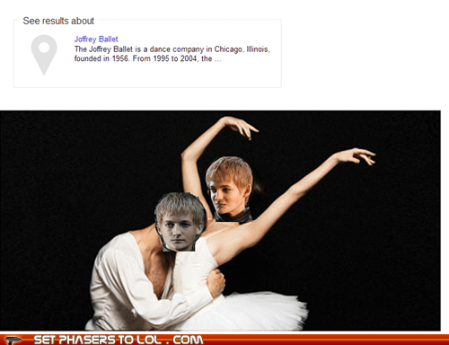 dancing Game of Thrones joffrey baratheon ballet jack gleeson name - 6844335616