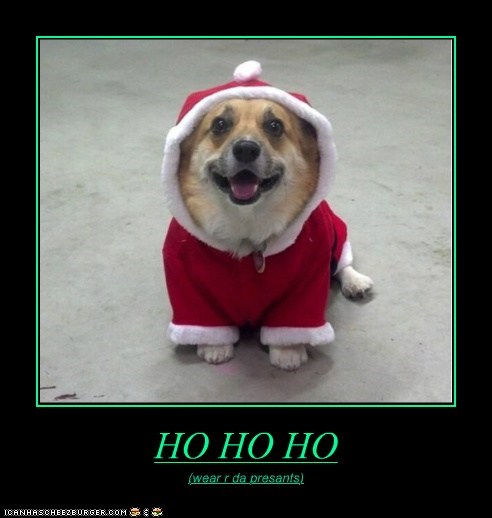 HO HO HO (wear r da presants)